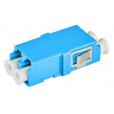 Розетка оптическая (адаптер) LC/UPC, duplex