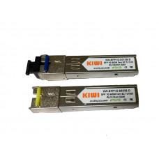 Модуль SFP WDM 1.25 G, 3км KIWI TX 1310 нм, RX 1550 нм, SC, DDM
