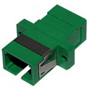 Розетка оптическая (адаптер) SC/APC, simplex