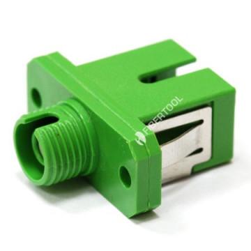 Розетка оптическая (адаптер) гибрид FC-SC/APC, simplex