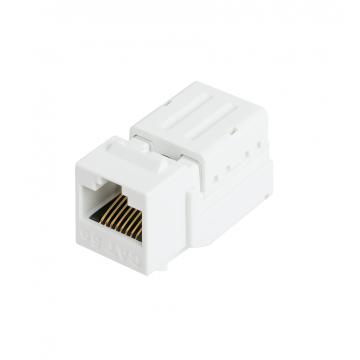 Модуль-вставка, Кат.5е (Класс D), неэкранированный, белый