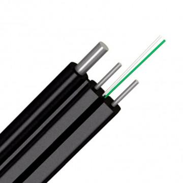 Кабель оптический CO FTTHS 2-2 (2 волокно на проволоке) (ВКОСС нг)