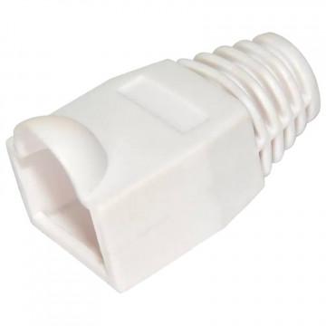 Колпачок изолирующий для RJ45 белый, 100шт