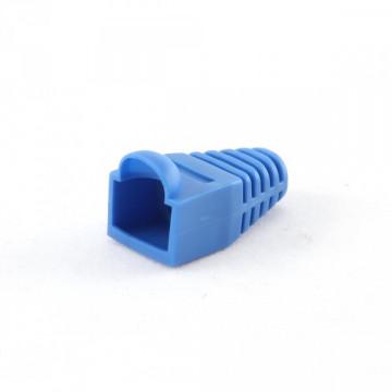 Колпачок изолирующий для RJ45 синий, 100шт