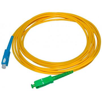 Патчкорд гибрид SC/APC-SC/UPC 0,5м
